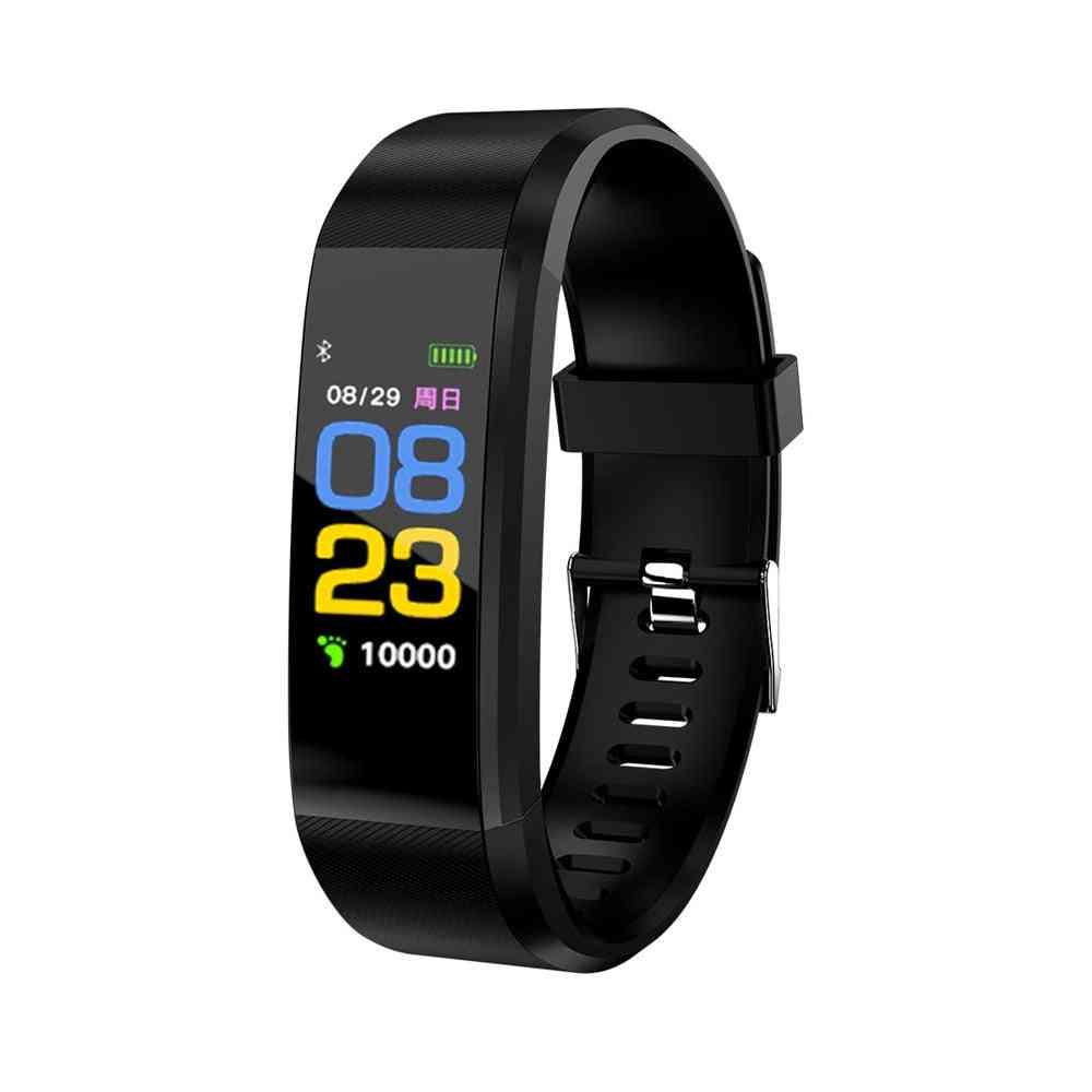 Plus Smart Wristband, Watch, Fitness Tracker, Health Heart Rate Monitor Band, Bracelet, Waterproof Smartwatch
