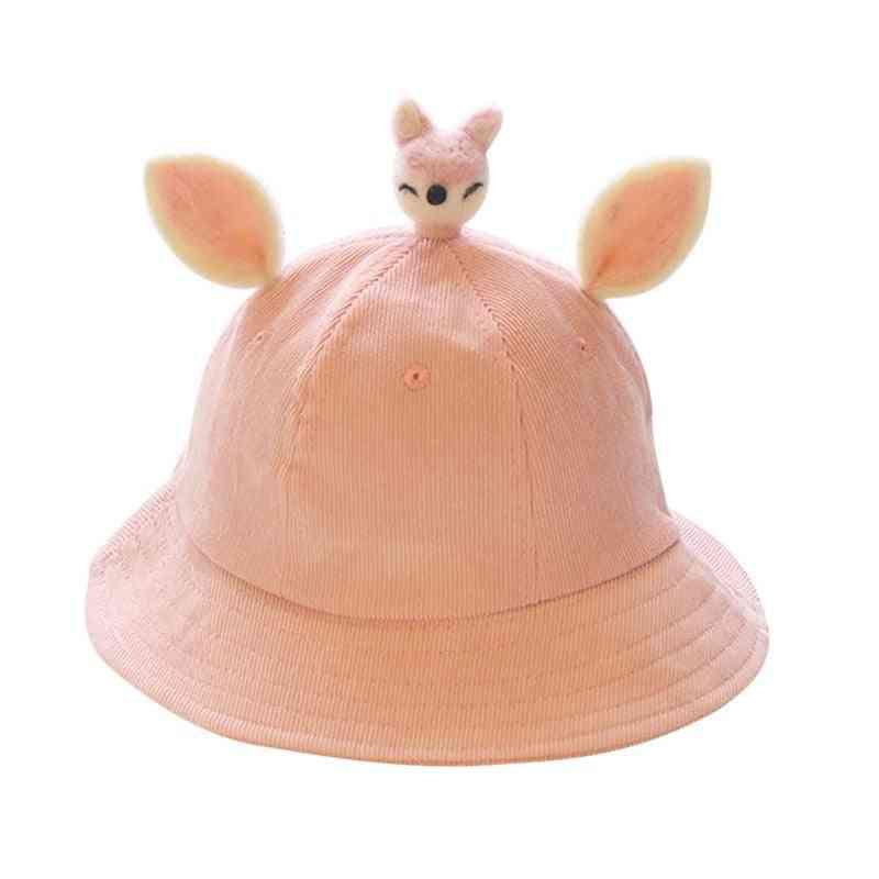 Summer Bucket Hat, Sun Protection Animal Cap