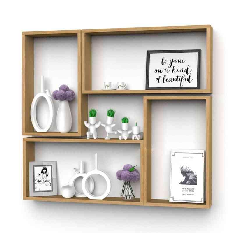 Stores Wall Rack Set Walls Amount Display Shelves