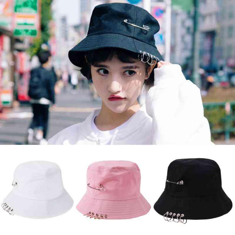 New Cool Unisex Bucket Hat Cap, Folding Fisherman Hat