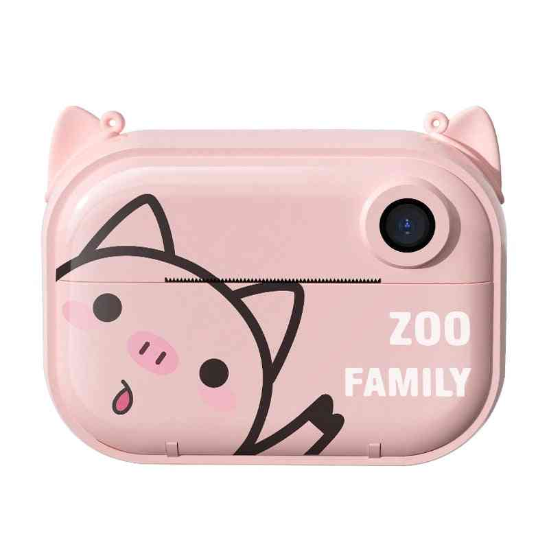 Fun Instant Print Camera For Kids With Print Paper