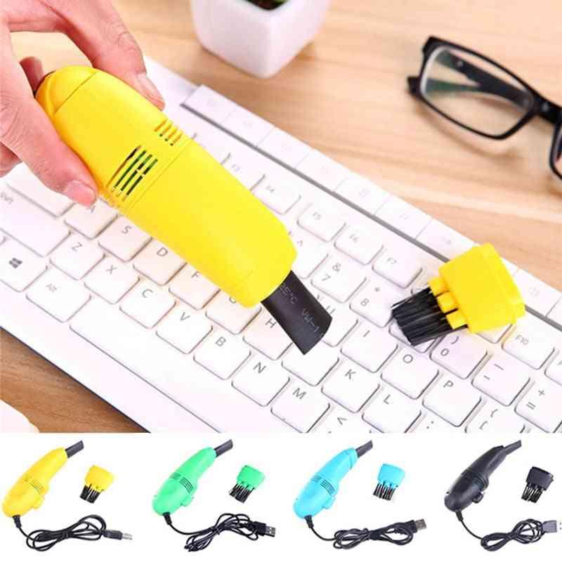 Usb Mini Computer Keyboard Brush Computer Vacuum Cleaning Kit Tool