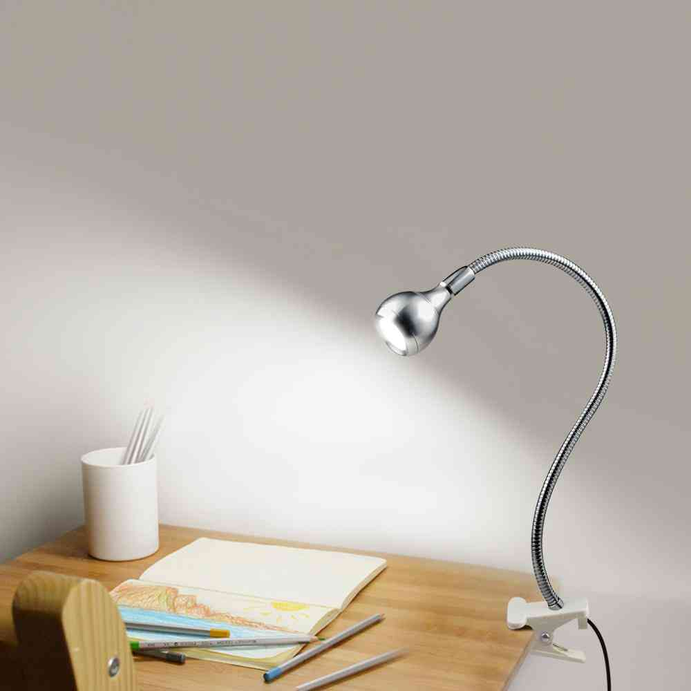 Book Lights Usb Port, Power Led Reading Lamp With Clip Holder Pc Laptop Computer.
