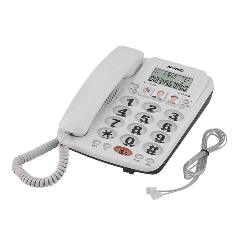 2-line Corded Phone With Speakerphone With Caller Id