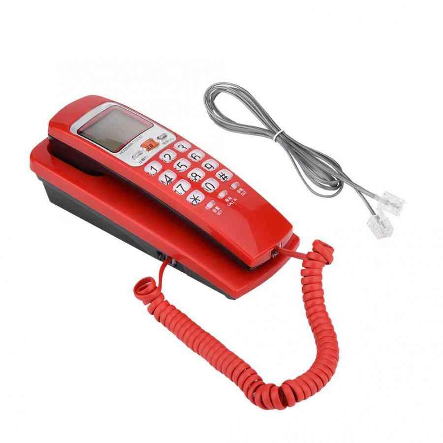 Portable Mini Phone Wall Mount Telephone