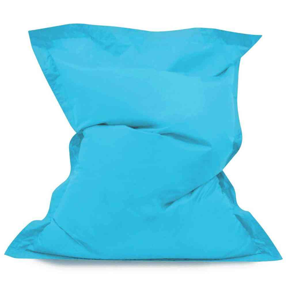 Square Beanbag Sofa Cover Chairs Without Filler Waterproof