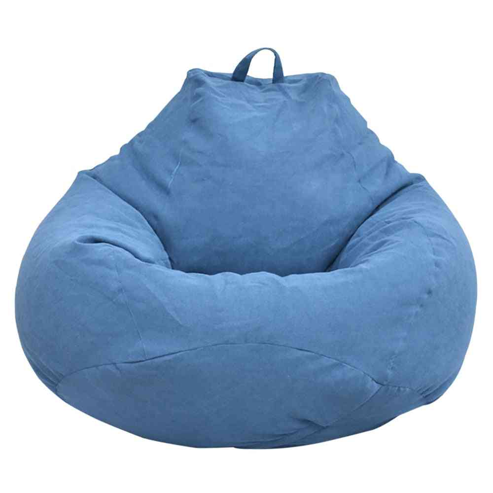 Large Lazy Sofas Cover Chairs Without Filler Adults Bean Bag