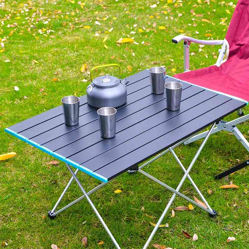 Aluminum Folding Camping Table With Carrying Bag