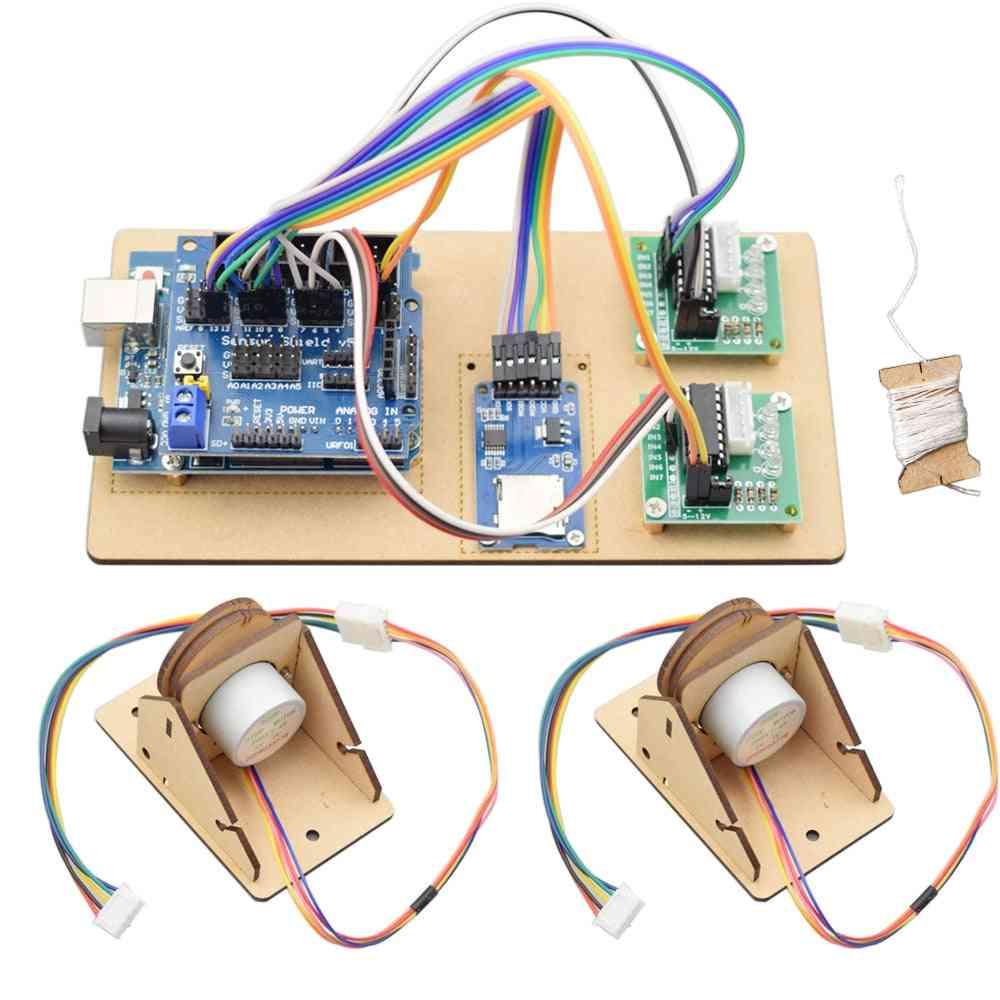 Open Source Draw Bot Line Plotter, Wall Painting Robot, Scribit Maker Project Kit