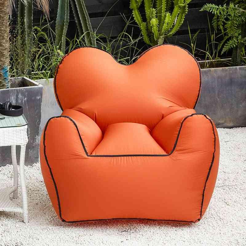 Inflatable Bean Bag Outdoor Beach Chairs Beanbag Air Chair Waterproof Seat