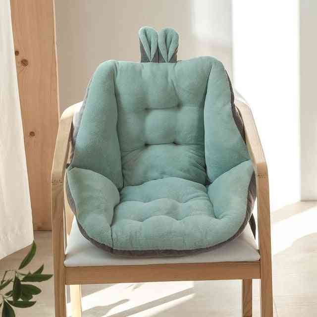 Semi-enclosed One Seat Cushion Soft Fuffly Comfortable Chair Back Cushion