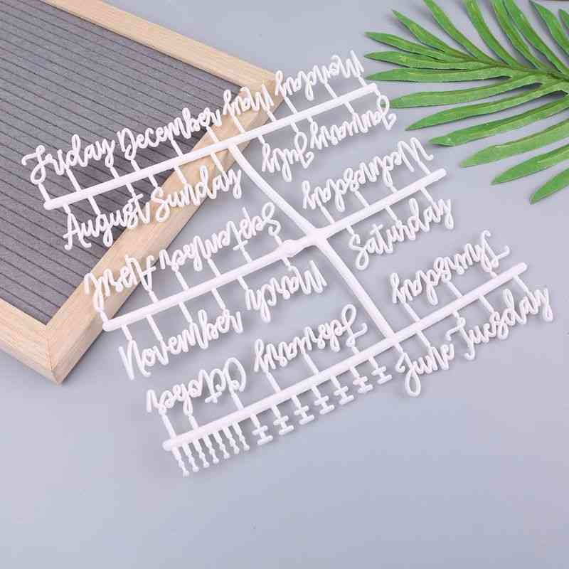 Characters For Felt Letter Board Numbers