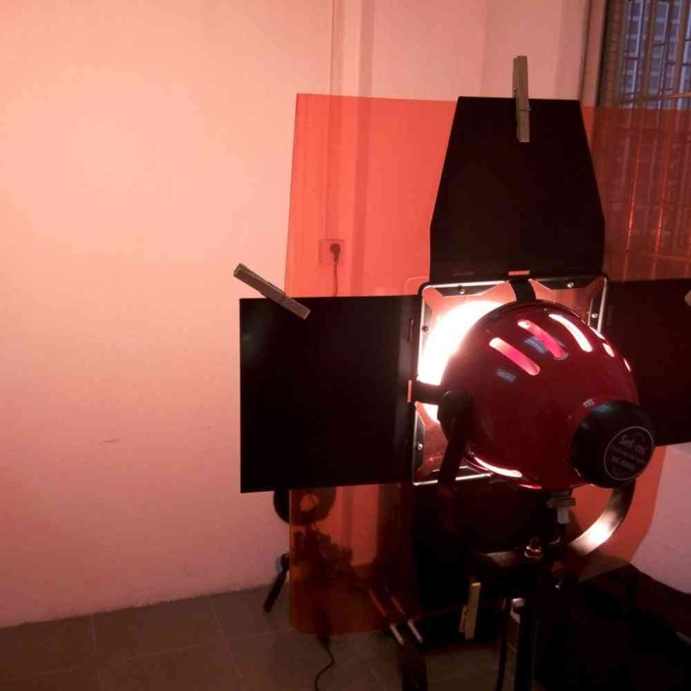 Professional Paper Gels Color Filter For Stage Lighting Redhead Light.