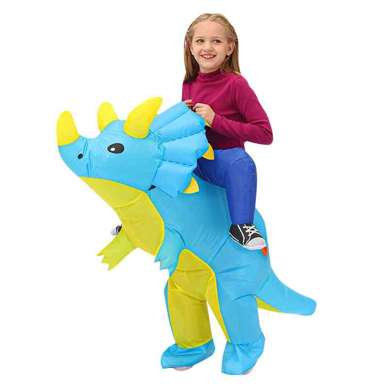 Kids Party Cosplay Costumes Toy, Animal Child Suit, Anime Inflatable Dinosaur, Costumes Cool