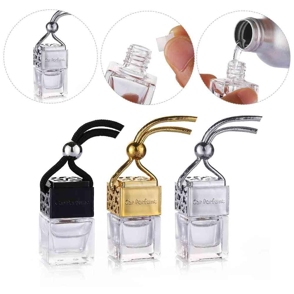 Car Air Freshener Scent Perfume Bottle
