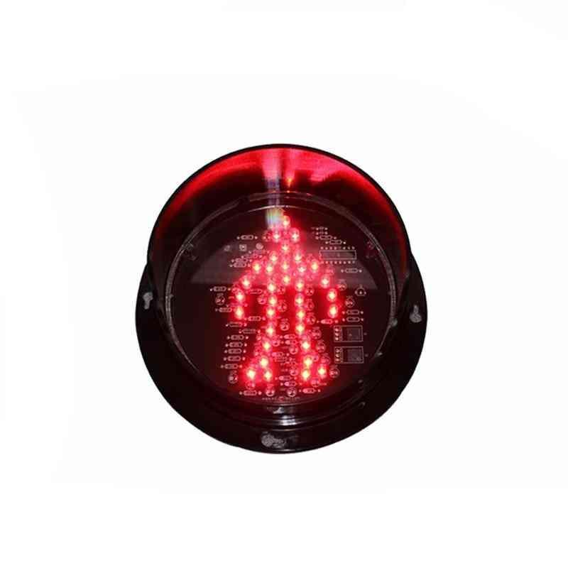 Wdm 125mm 12v Traffic Red Pedestrian Standing Man Light Module