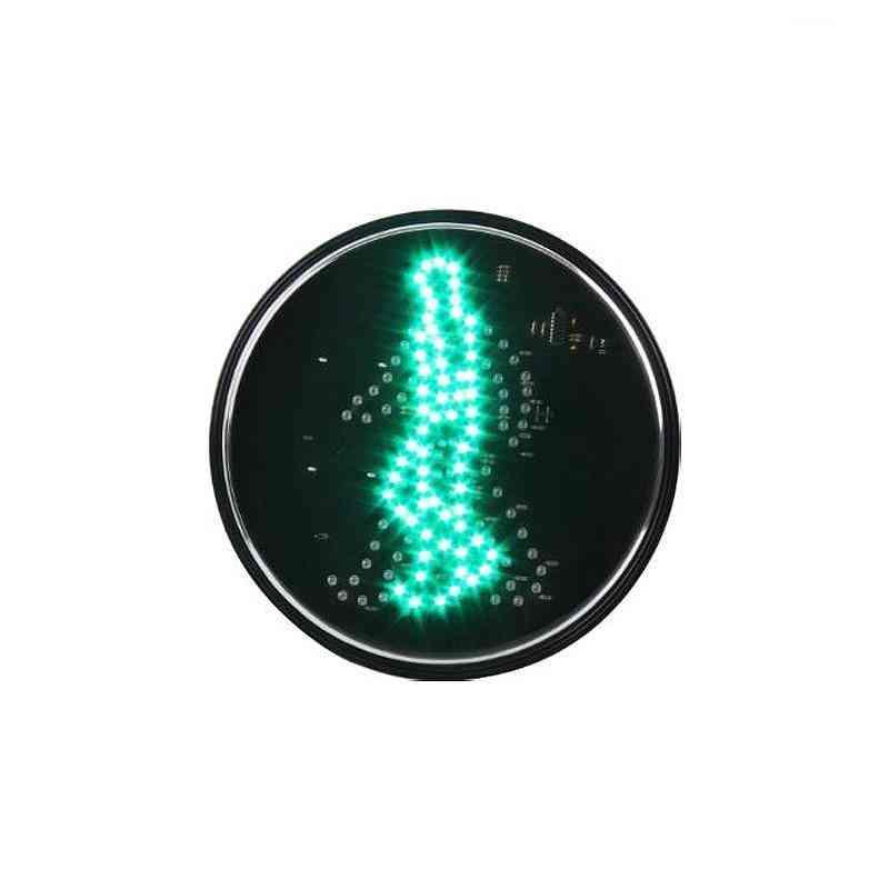 200mm Green Man Waking Led Traffic Signal Module Zebra Crossing Light