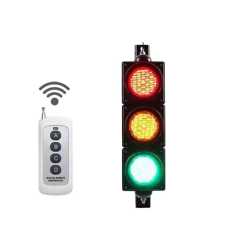 4 Inch 100mm Ir Remote Control Led Traffic Light Controller