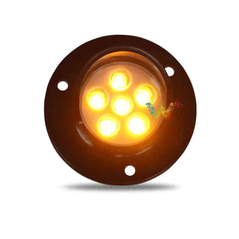 Dc12v 50mm Diameter Yellow Amber Cluster Traffic Signal Module Arrow Board Light