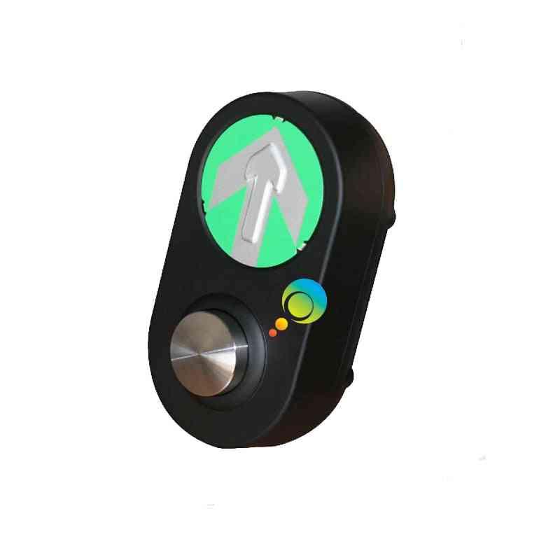 Mini Crossing Road Arrow Guidance Pedestrian Traffic Light Button