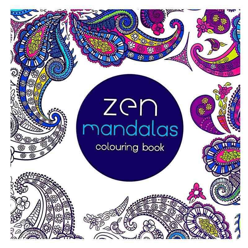 English Edition Coloring Book