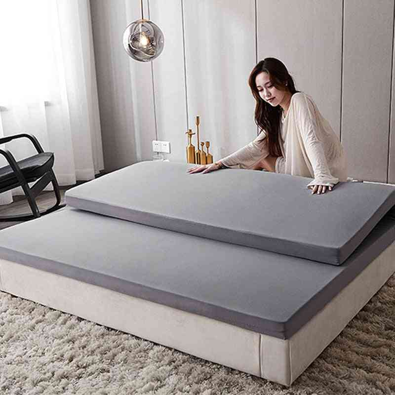 Foldable Slow Foam Thick Mattress Cover Bedspreads