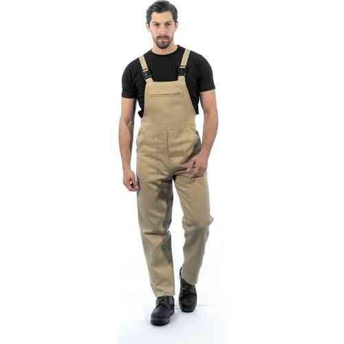 ?ensel Pendant Gardener Overalls Kangaroo Pockets Business Dress