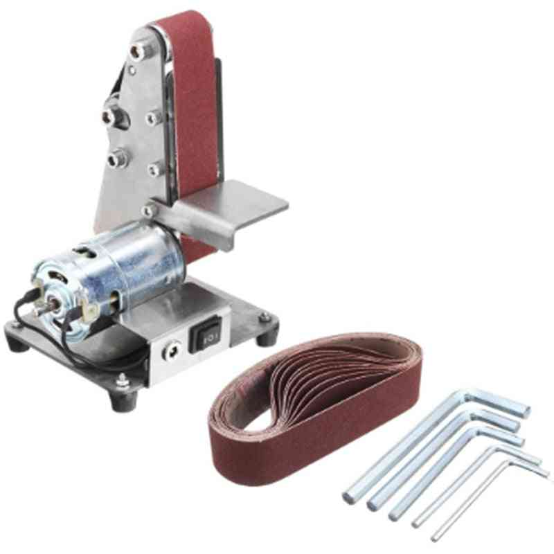 Mini Electric Belt Machine, Sander Sanding Grinding Polishing Machine
