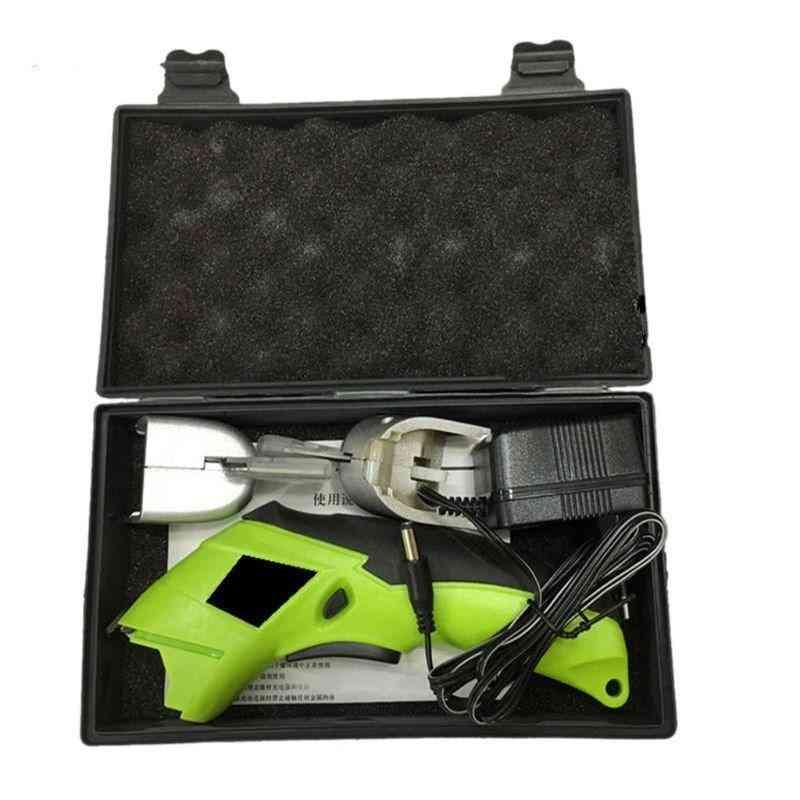 Multipurpose 4v Cordless Rechargeable Handheld Electric Scissors