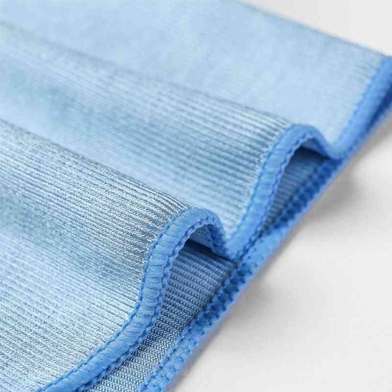 Microfiber Glass Cleaning Towel No Trace No Lint Rag