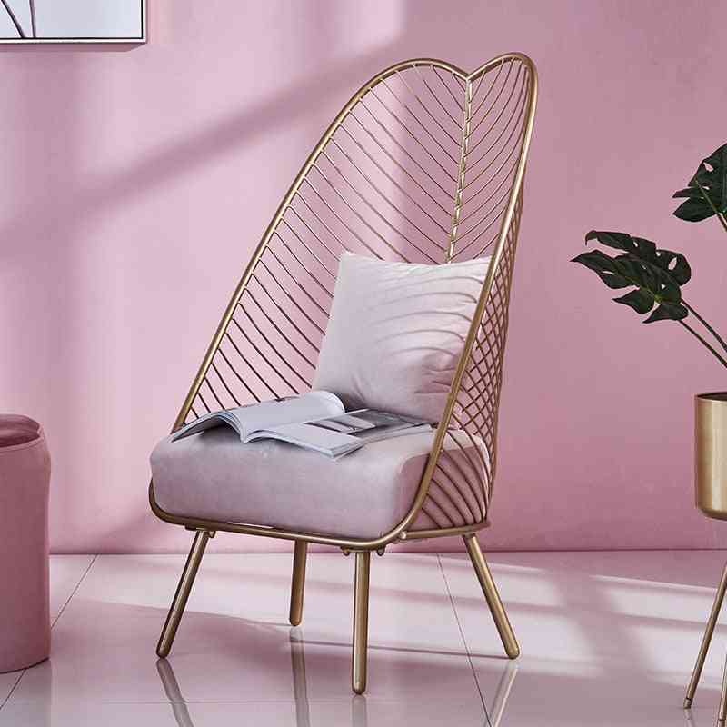Metal Steel / Iron Wire Leisure Chair
