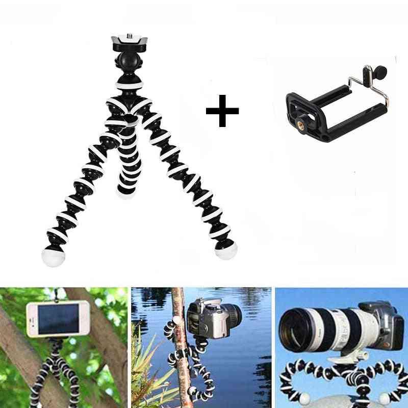 Phone Tripod Holder, Flexible Octopus Mini Camera Clip Stand