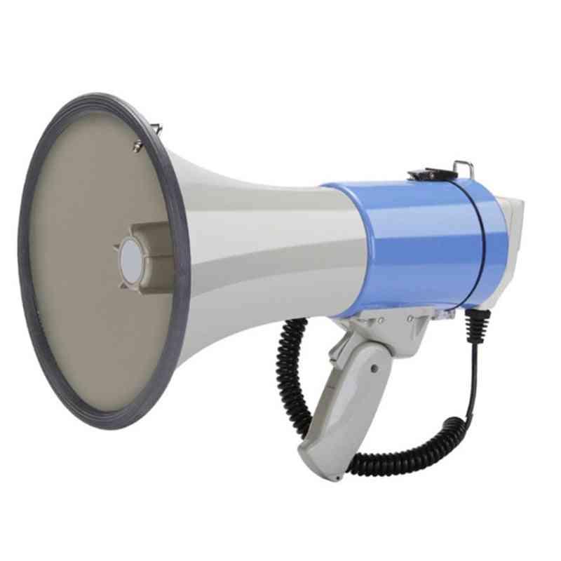 Outdoor Handheld Megaphone Speaker, High Power Recordable, Loudspeaker Tweeter