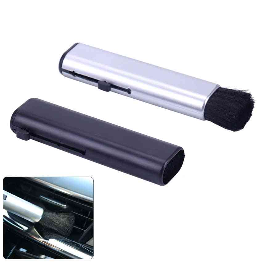 Car Conditioning Air Outlet Brush Retractable Cleaning Brush