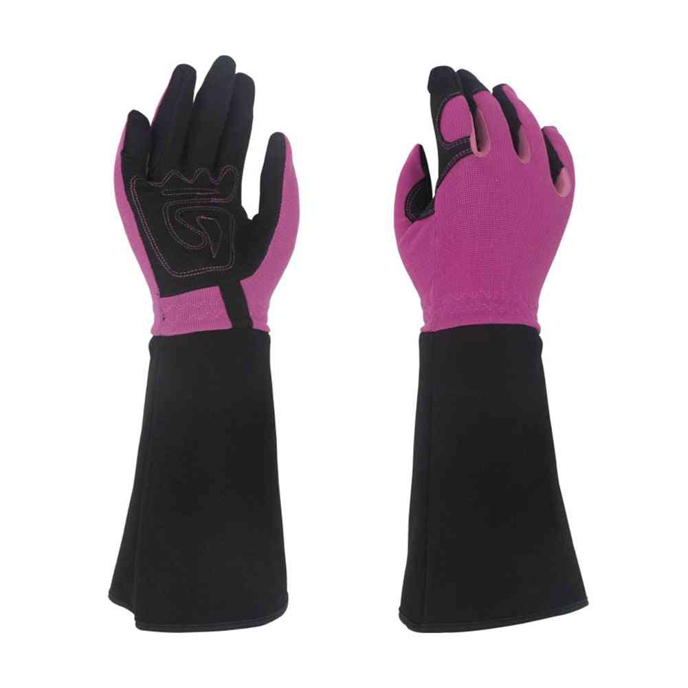 Trimming Non Slip Protective Thorn Proof Working Gloves