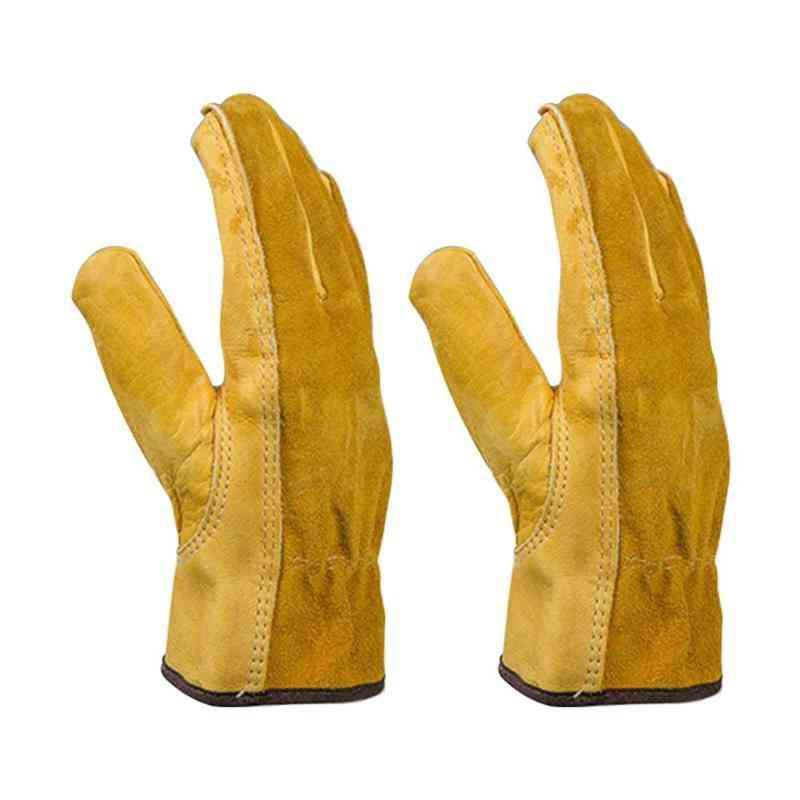 Cut-resistant Safety Work Mitten Gardening Gloves