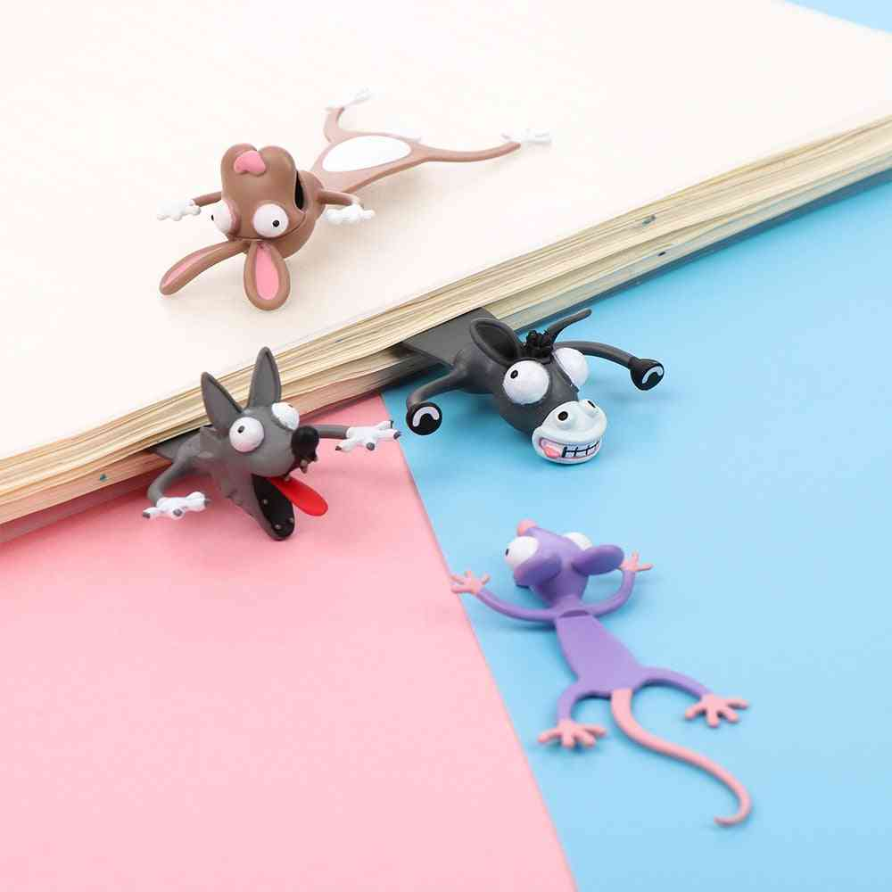 Bookmarks Cute Cat Student School Stationery