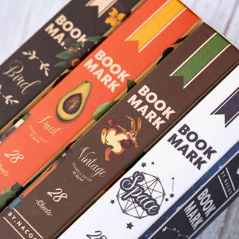 Sky Fruitbookmarks Book Holder Message Card