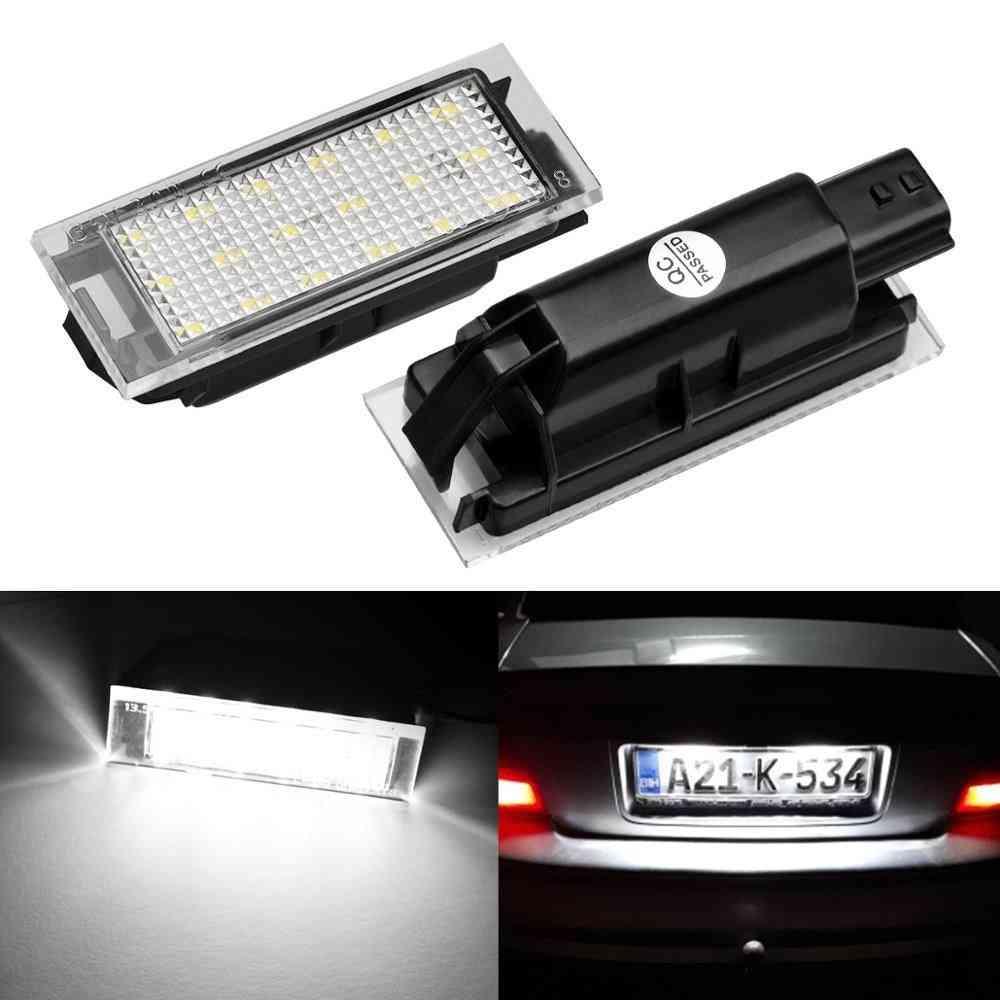 Car Led License Plate Light For Renault Megane 2 Clio