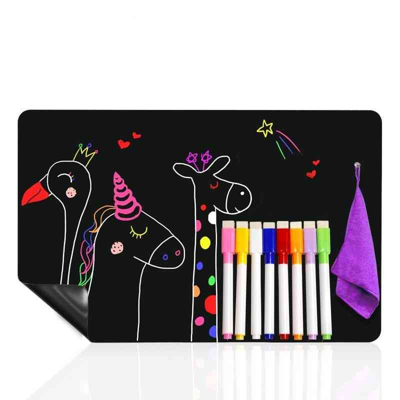 Magnetic Black Board For Writing / Drawing