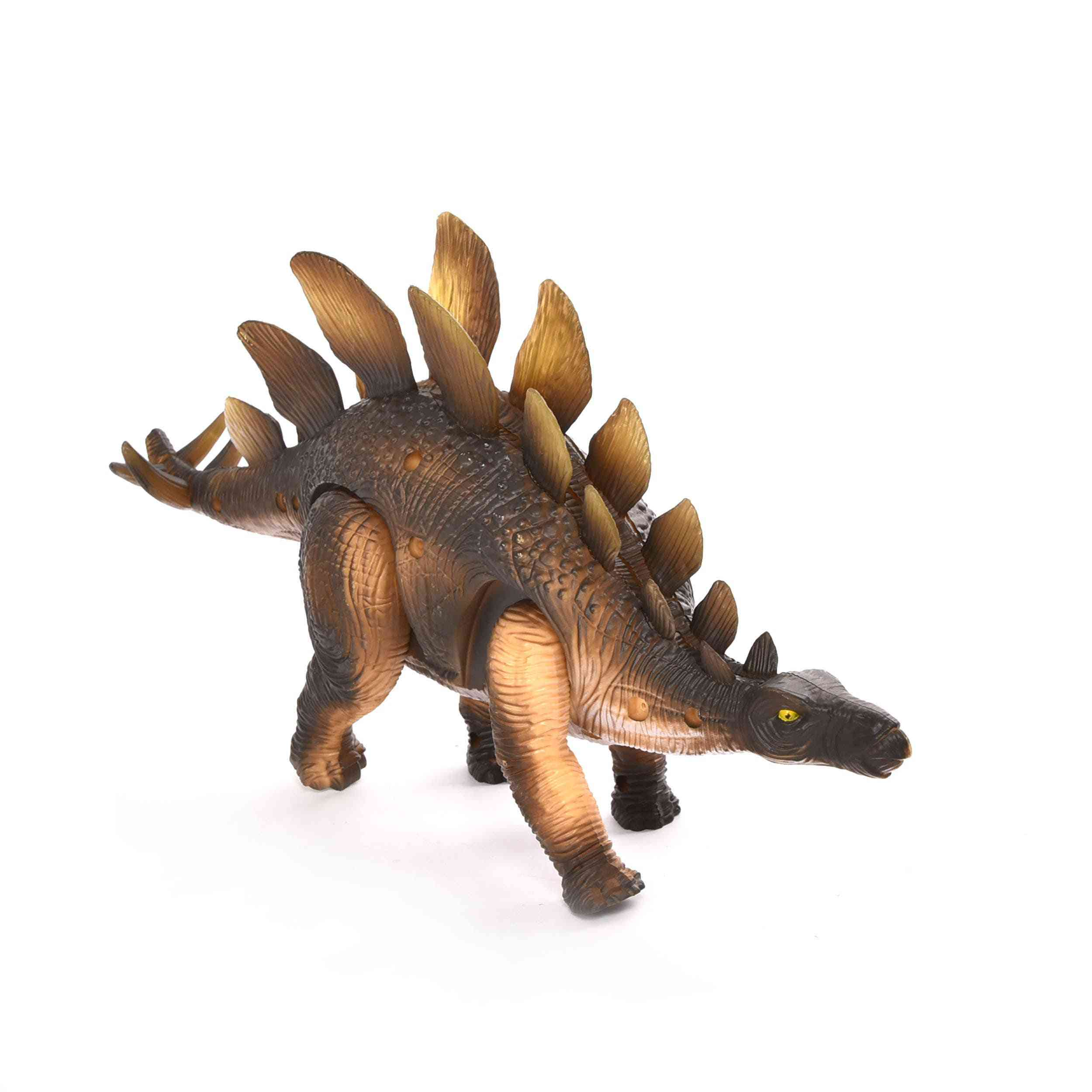 Battery Operated Walking Stegosaurus Dinosaur With Lights And Music