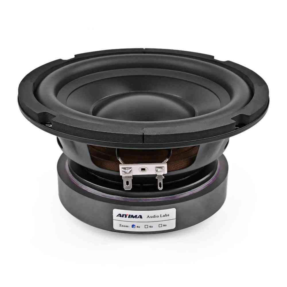 Subwoofer Speaker Driver Car Audio High Power Ohm Hifi Fever Woofer Loudspeaker Bass Home Theater