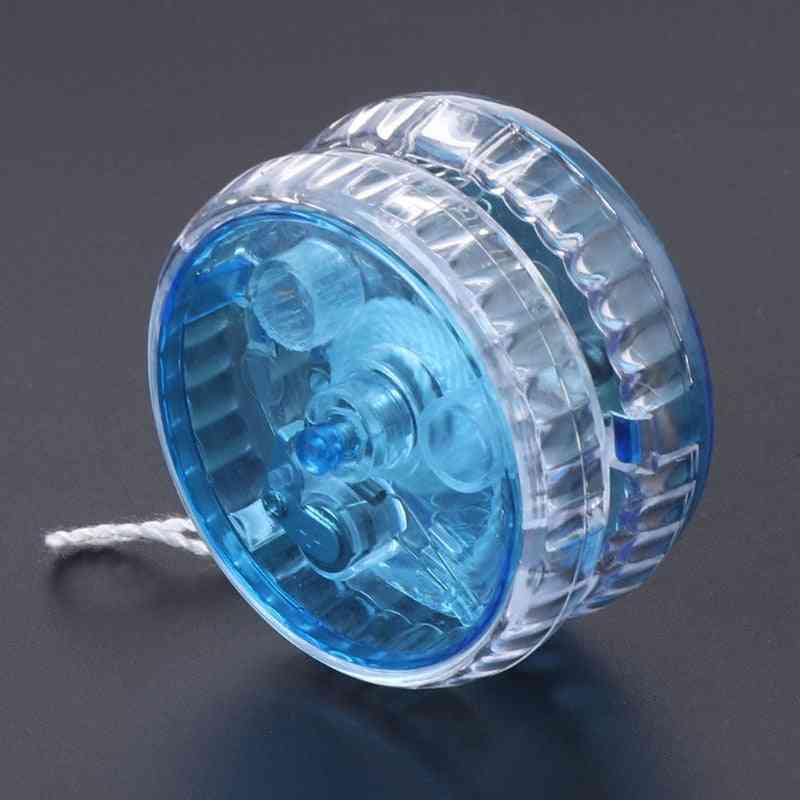 Yoyo Light Up Clutch, Mechanism Toy, Trick Speed Ball Kids Toy, Plastic Easy To Carry,