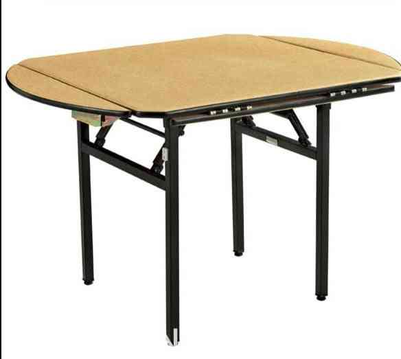 Folding Square/round Banquet Table With Pvc Steel Folding Leg