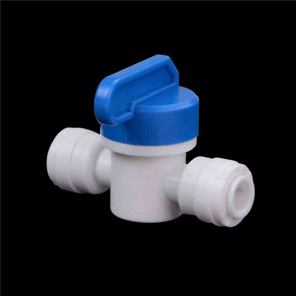 Pe Pipe Fittings Hose Quick Connection Ball Valve Water Reviser Osmosis Aquarium System