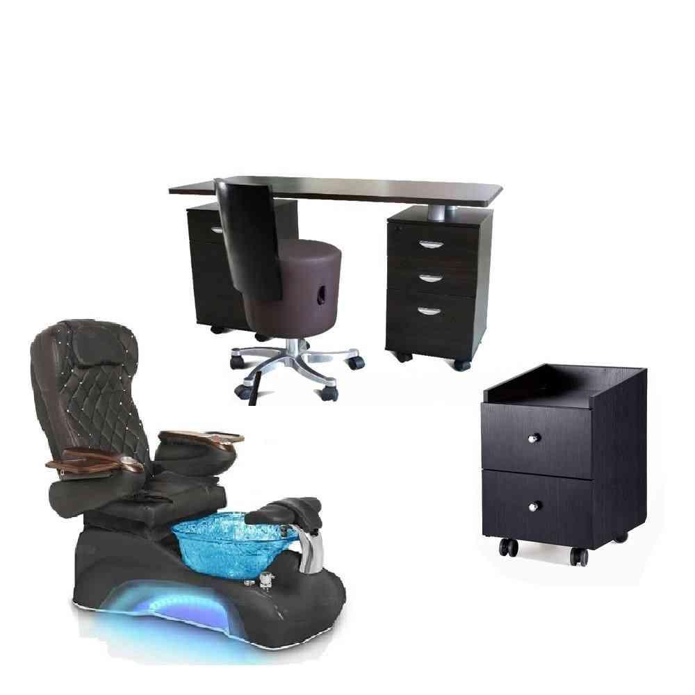 Ds Nail Salon Furniture Cheap Pedicure Chair Pipe Less