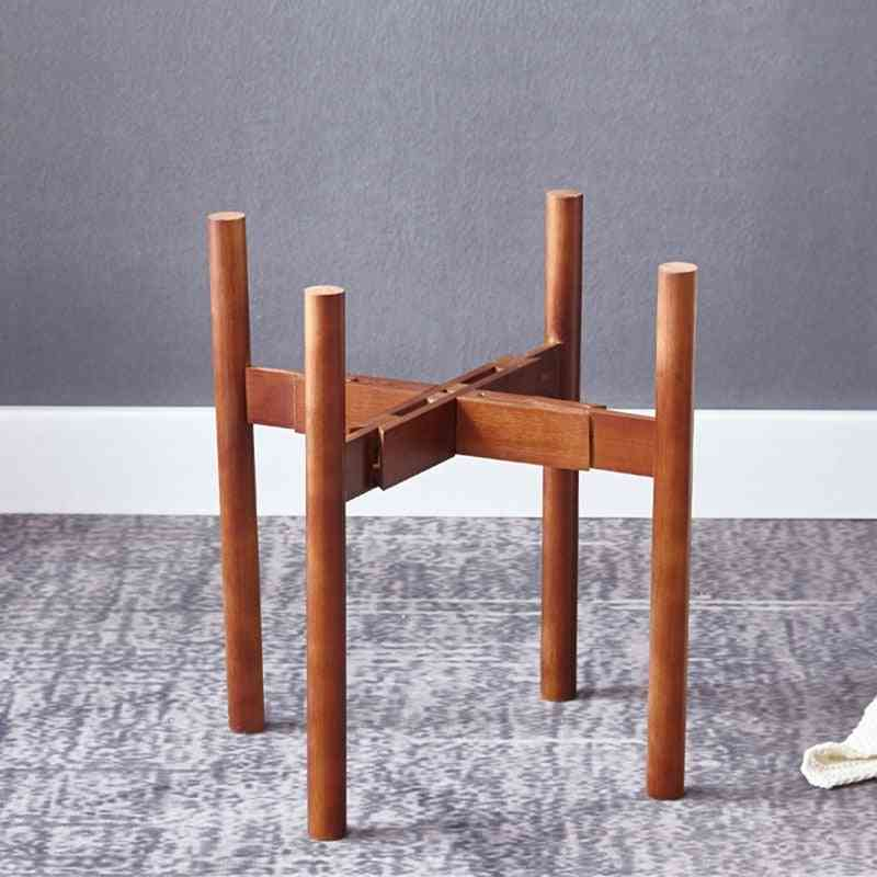 Bamboo Wood Flower Stand