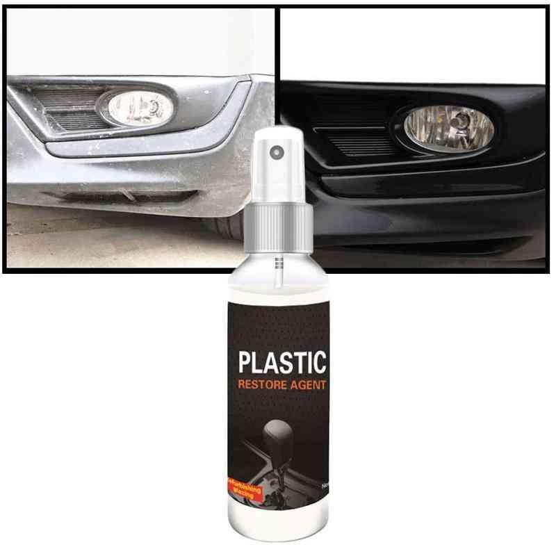 Coating Paste Maintenance Car Cleaner Plastic Parts Retreading Agent