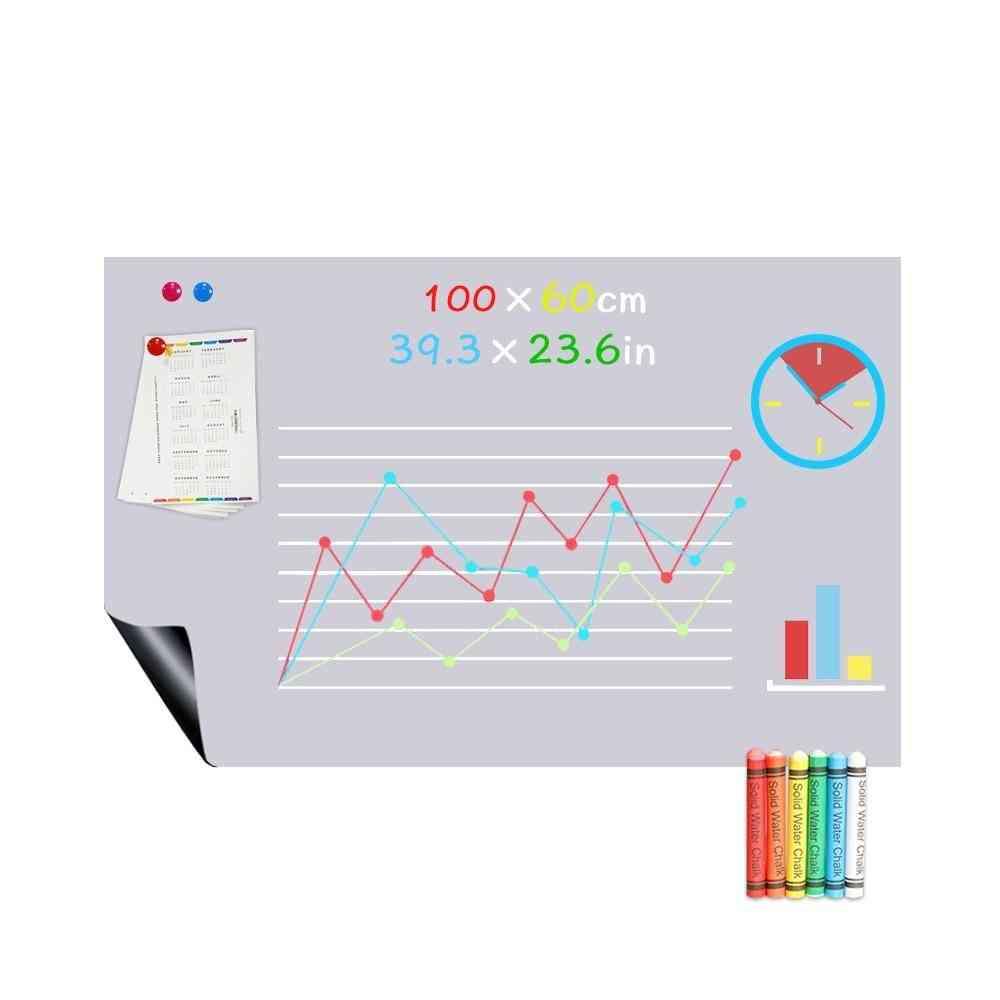Magnetic Blackboard Gray Color Chalk Board