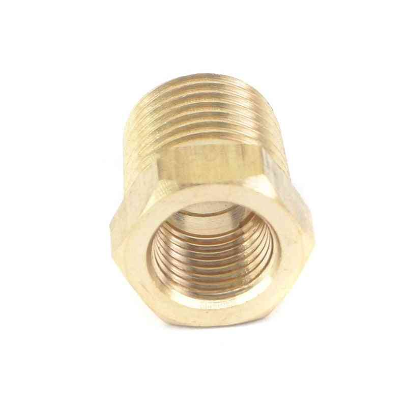 Npt Male Female Reducing Bushing Brass Pipe Fitting Connector Adapter Air Gas Fuel Water